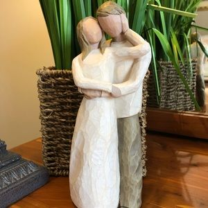 Willow tree figurine together marriage